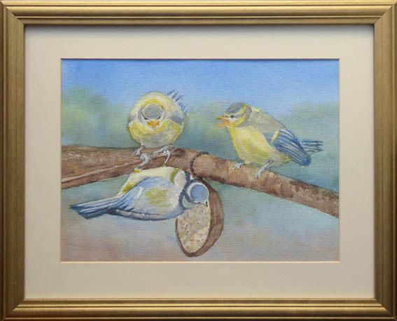 """""""Me Next.""""  Watercolour  15.5"""" x 12.5""""  £65"""