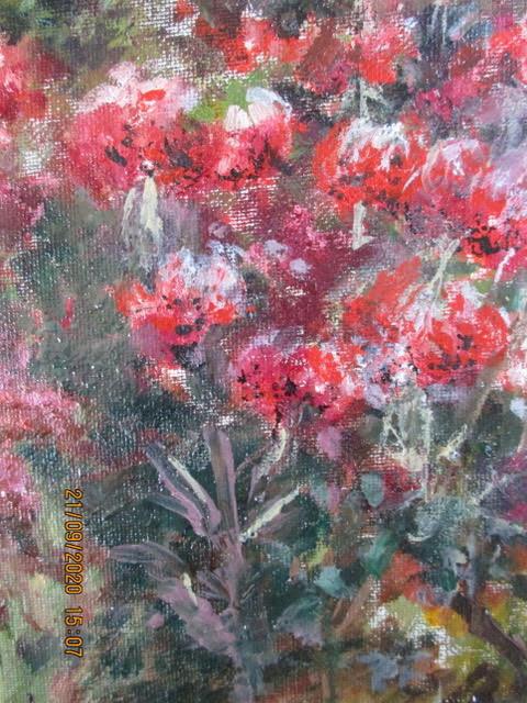 """Tiger Lilies""  Oil  14"" x 11""   £30   Unframed"