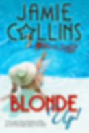Book cover for Blonde Up! Photo of girl in pool