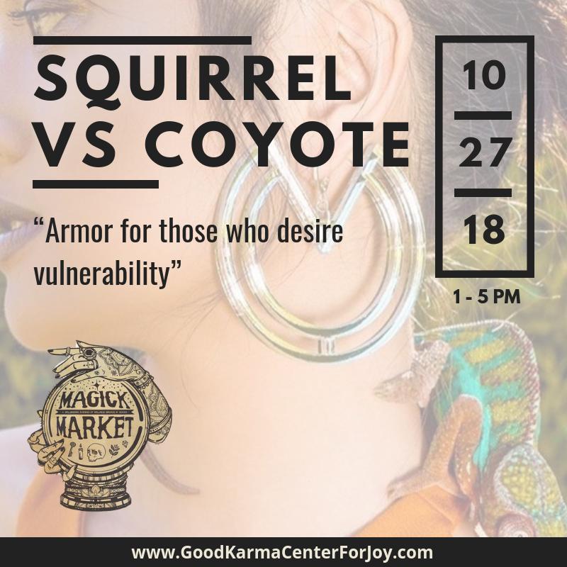 Squirrel vs Coyote
