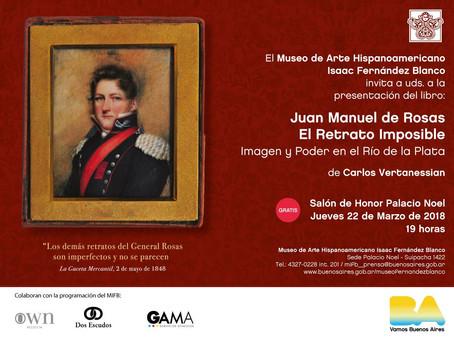 Presentación del libro en el Museo de Arte Hispanoamericano Isaac Fernández Blanco
