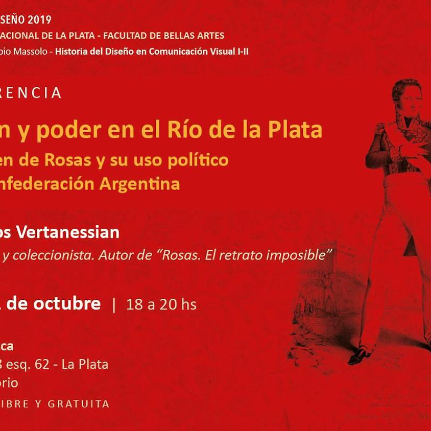 Conferencia en la Universidad Nacional de la Plata - Facultad de Bellas Artes