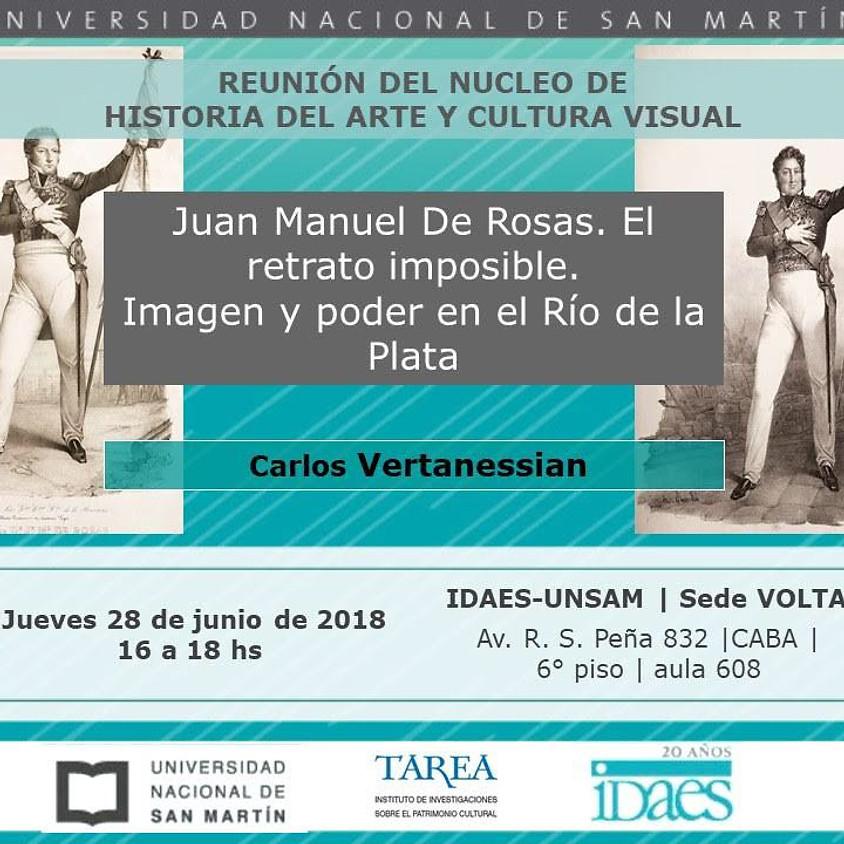 Juan Manuel de Rosas, El Retrato Imposible en la UNSAM