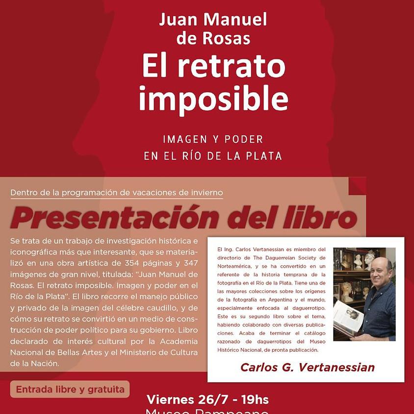 Presentación del libro en el Museo Pampeano