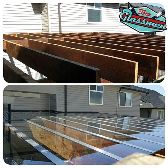 Tempered Glass Patio Cover - Surrey
