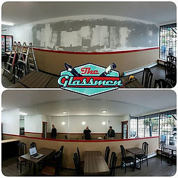 We helped Pizza 604 feel a bit more spacious. Adding 24 feet of mirror to this nicely renovated spac
