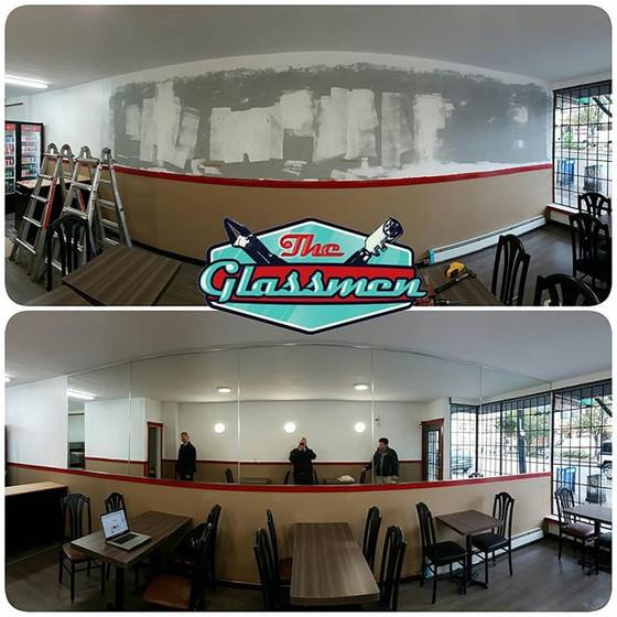 Mirror Installation - Pizza 604