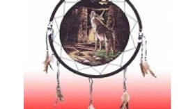 Wolf Mountain Large Dream Catcher 45cm