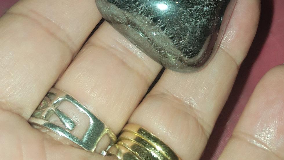 Large Tumblestone: Hematite (2.5cm - 3.5cm)