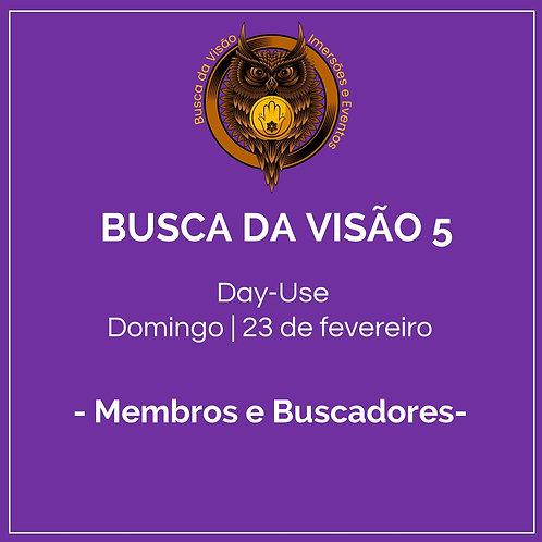 Busca da Visão 5 - Day-use Membros e Buscadores - Caminho Verde