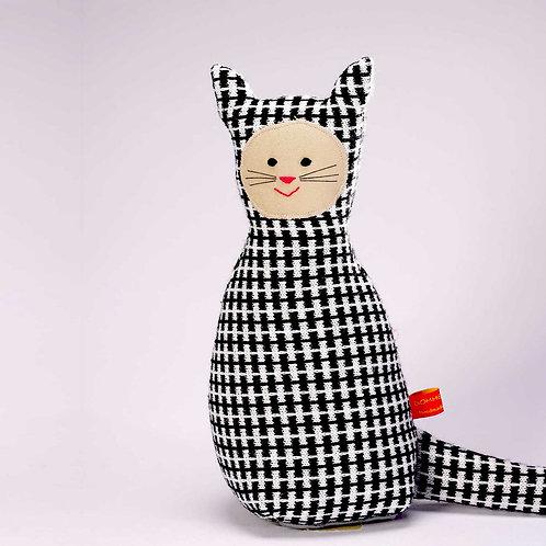 Katze  |  schwarzweiß