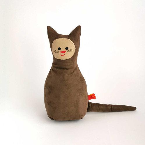 Katze  | Alcantara braun