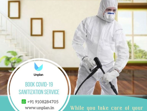 UNPLAN- COVID19 DISINFECTION AND SANITIZATION SERVICE