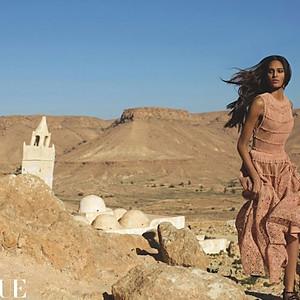 EDITORIAL for VOGUE Arabia Special AZZEDINE ALLAÏA