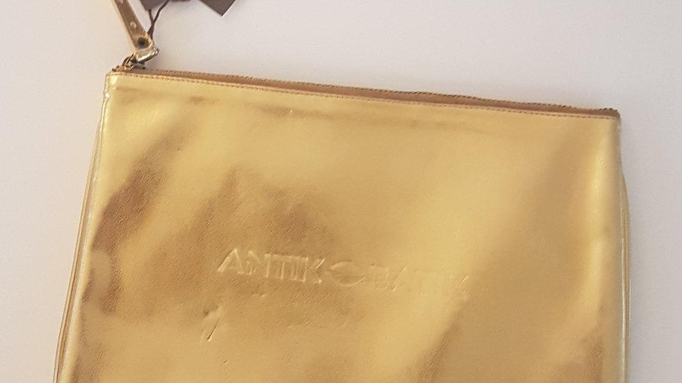 Pochette dorée Antik Batik