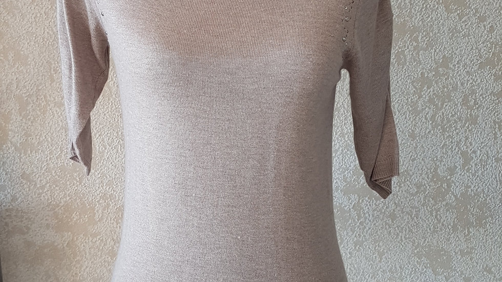 Pull manches courtes Caroll