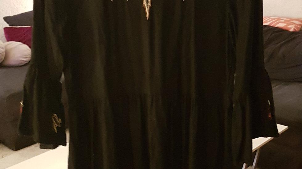Robe brodée Zara