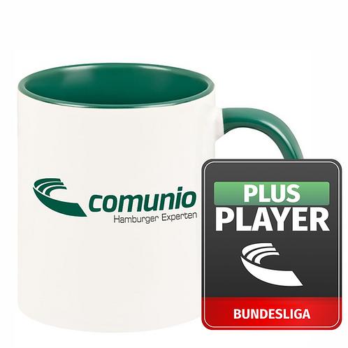 Comunio.de Plus Player und individuelle Tasse im Bundle