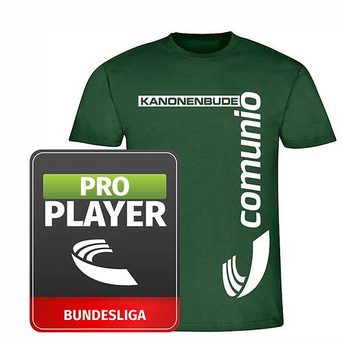 T-Shirt mit individuellem Aufdruck und Pro Player im Paket