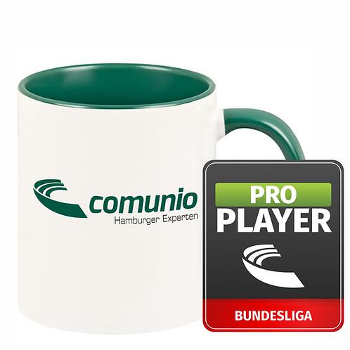 Comunio.de Pro Player und individuelle Tasse im Bundle