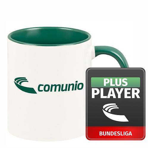 Comunio.de Plus Player und Tasse im Bundle