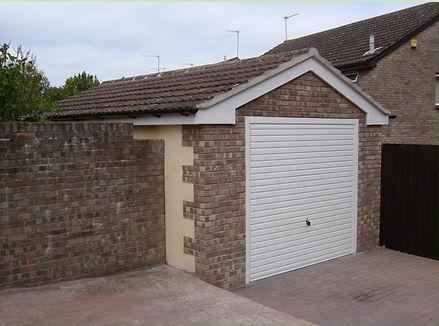 Garage, porch