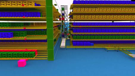 Warehouse Design - Simulation & Emulation