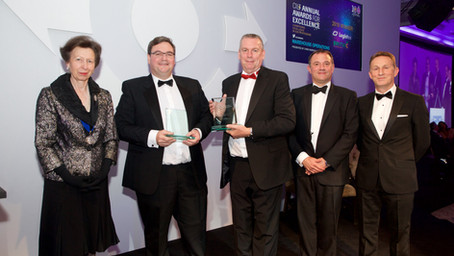 Logistex & Britvic crowned winners at the 2019 CILT Awards