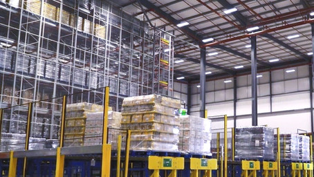 Handling & Storage Solutions Magazine gets a tour of Britvic's award winning facility