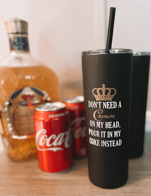 Crown and Coke Cup