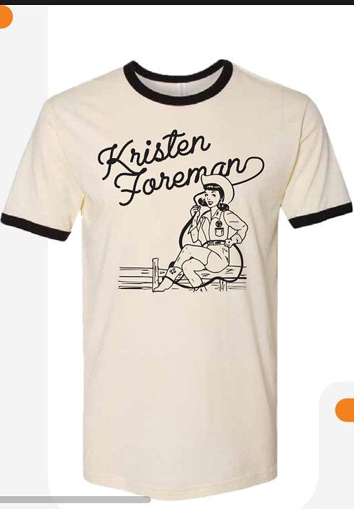 Kristen Foreman T Shirt