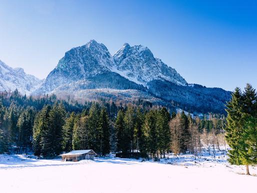 Vom Allgäu zur Zugspitze - Ein Bayerisches Winterwochenende bei Kaiserwetter