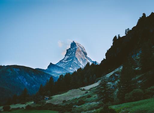 Zermatt mit dem, wie ich finde, schönsten Berg der Alpen - Dem Matterhorn