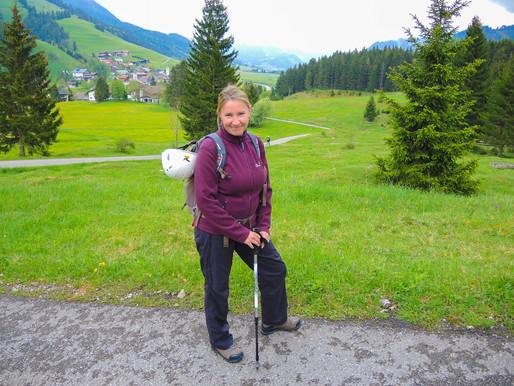 Erste Bergtour im Jahr 2015