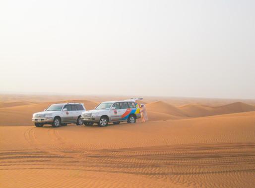 Dubai und der Beginn des Weltenbummels