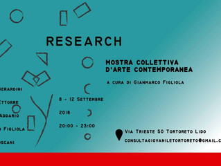 Research - Mostra collettiva d'arte