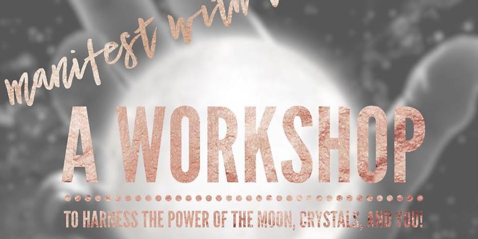Online Moon Workshop with Rockstar Rock Shop