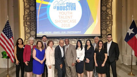 Sylvester Turner, Mayor of Houston, Recognized HGSCA outstanding accomplishments at the City Hall