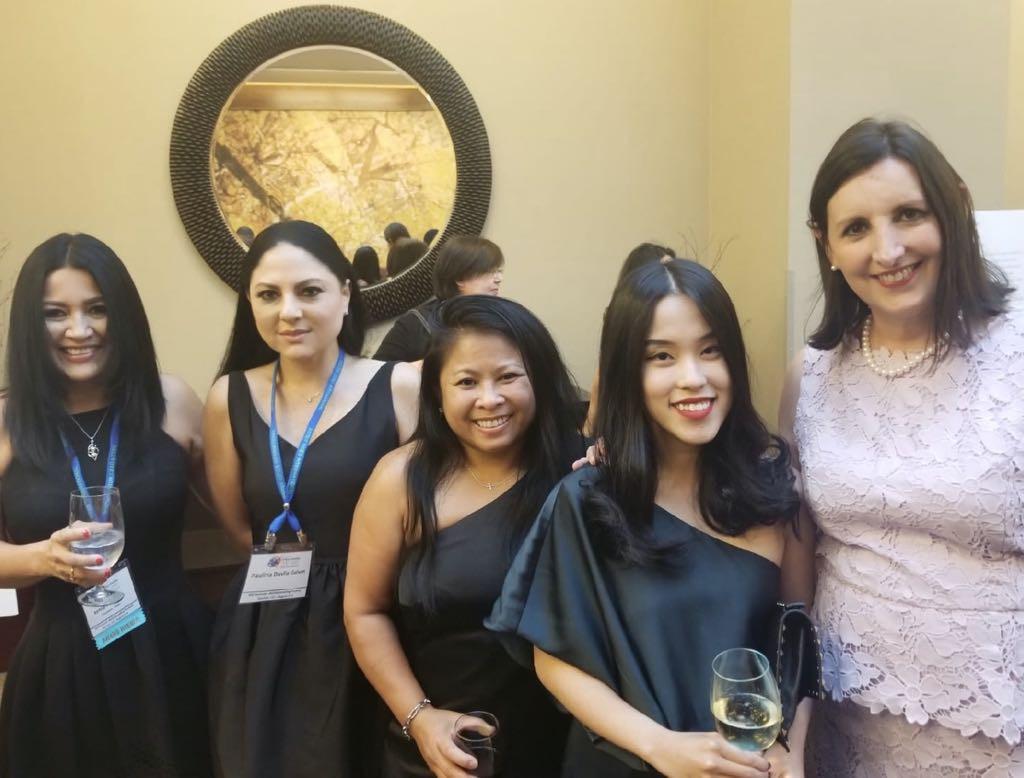 Kenia Mosquera, Paulina Davila, Sister Cities of Houston
