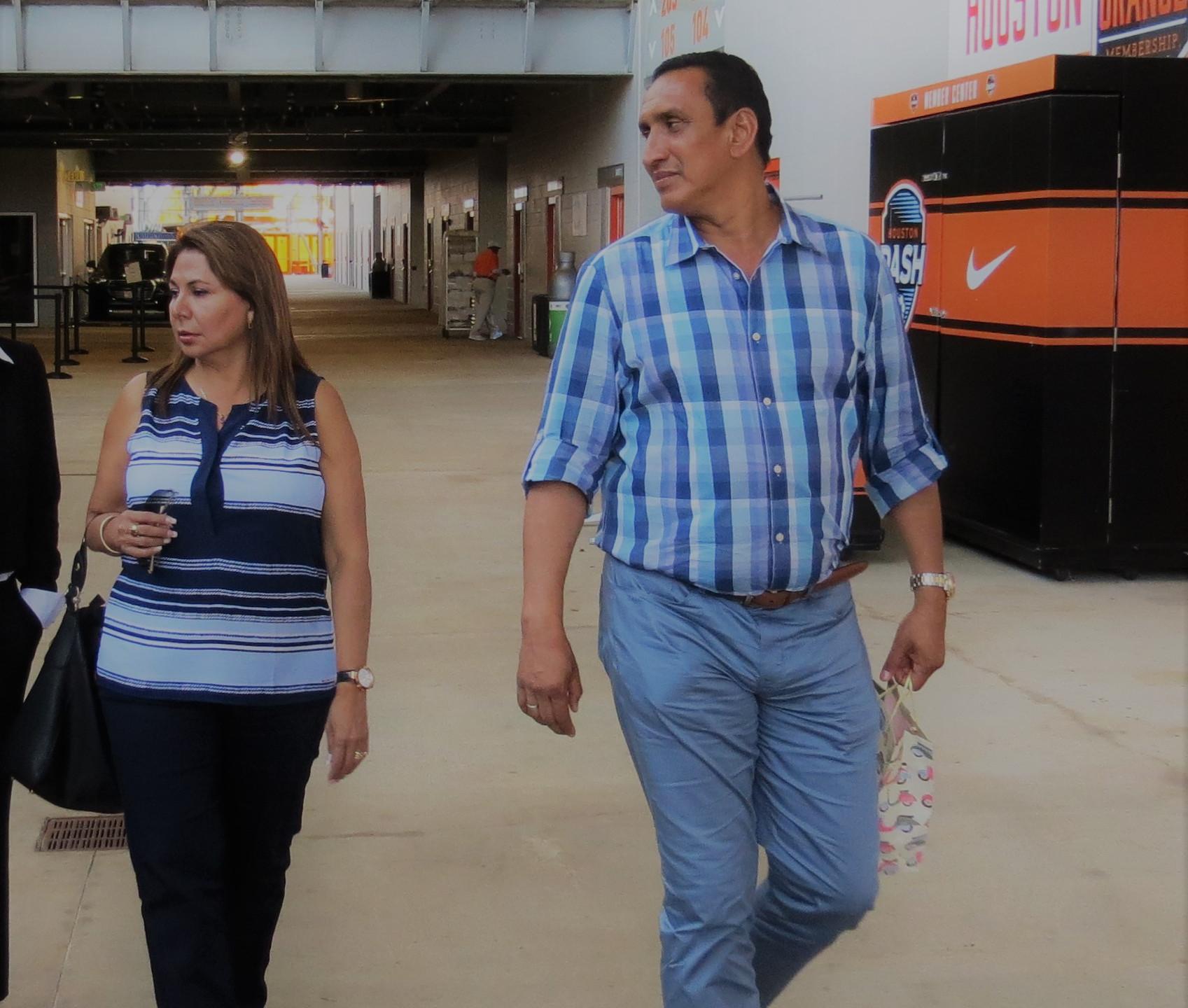 Mr. and Mrs. Uquillas