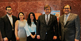 U.S. Ambassador Chapman, Rice University, and HGSCA Share Ideas and Explore Opportunities to Strengt