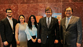 HGSCA Organized an Ecuadorian Delegation Visit to Houston to Establish and Sign Bilateral Commercial