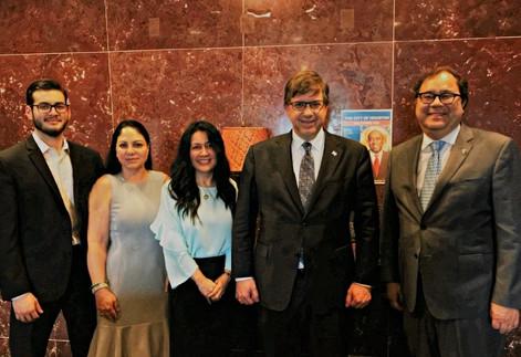 The Honorable Todd Chapman, US Ambassador met HGSCA