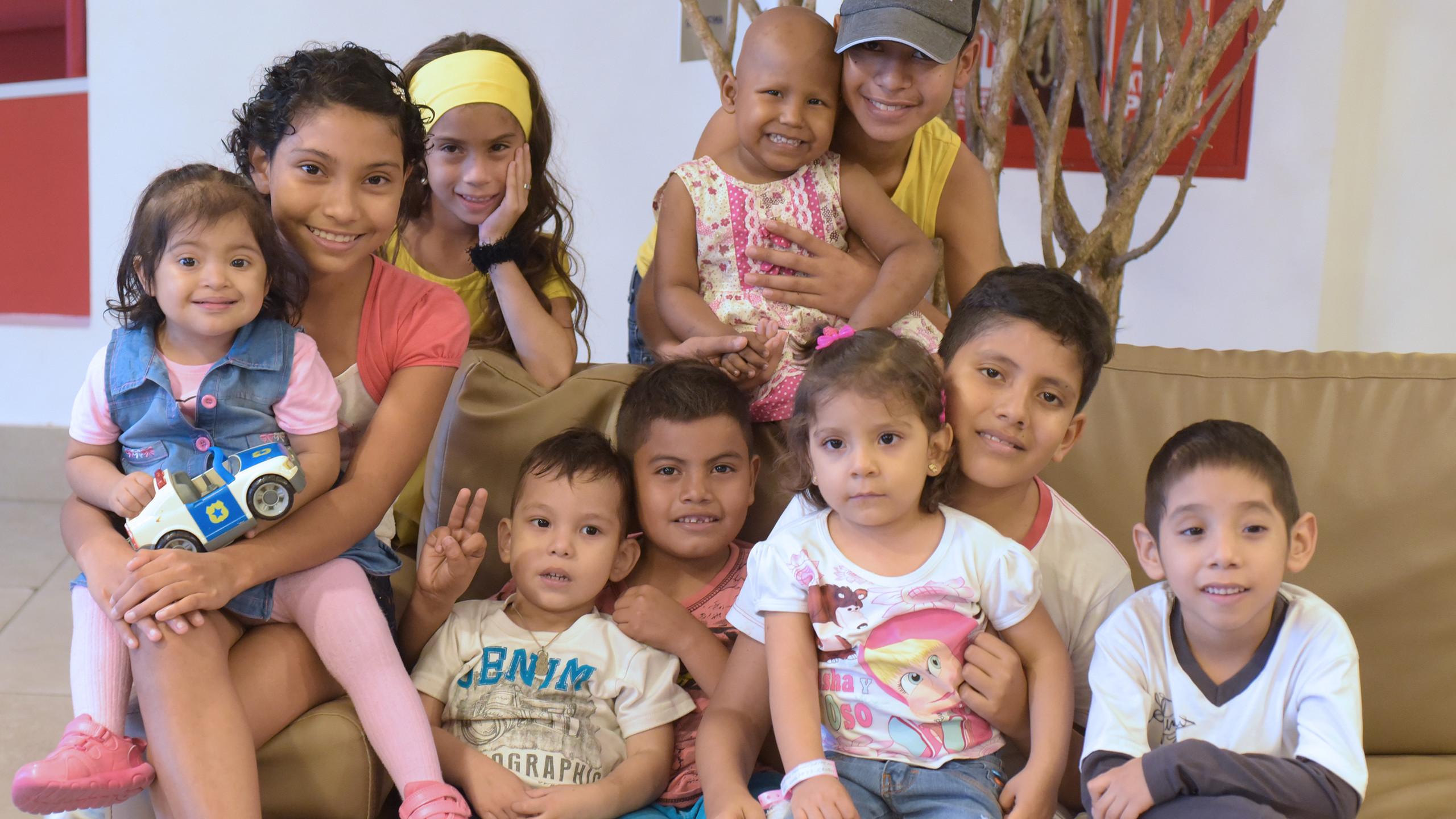 FCRM Children benefited