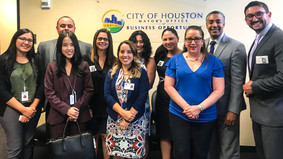 The Office of Business Opportunities (OBO), Sister Cities of Houston, HGSCA and The Ecuadorian Assoc