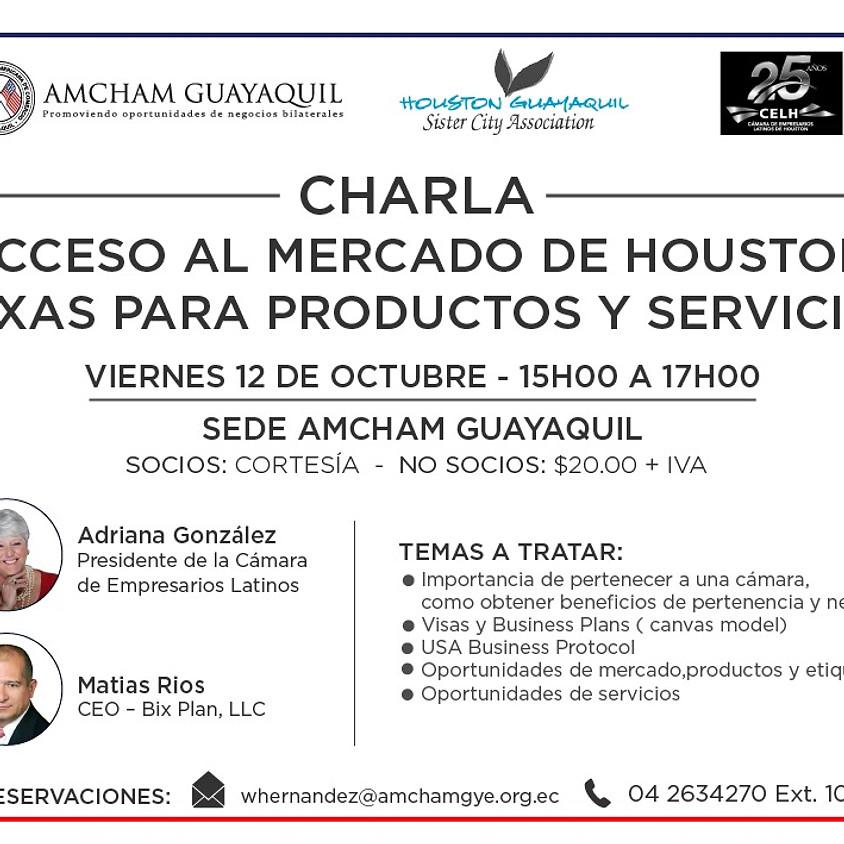 Acceso al Mercado de Houston, Texas para Productos y Servicios