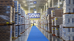 HGSCA is pleased to announce that Goya has confirmed a donation of 3000 lbs of food to the Ecuadoria