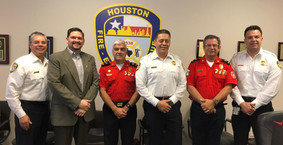 Houston and Guayaquil Fire Department Met to Establish a Collaborative Partnership between Organizat