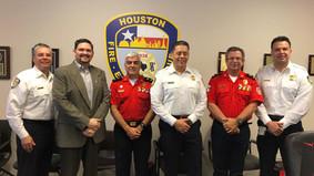 Houston and Guayaquil Fire Department Met to Establish a Collaborative Partnership between Organizat