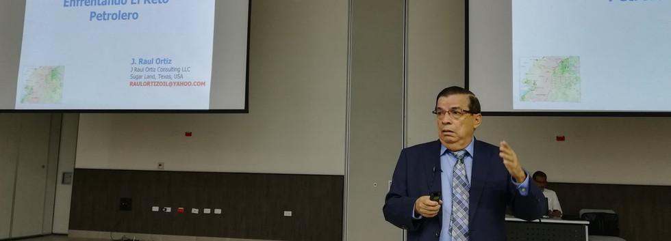 Raul Ortiz San Martin, Presenter